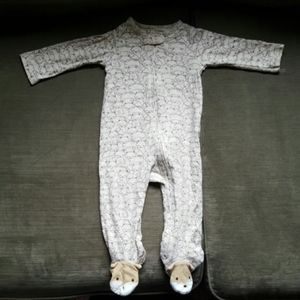Carter's Tan 9months baby boy Fox Pajama